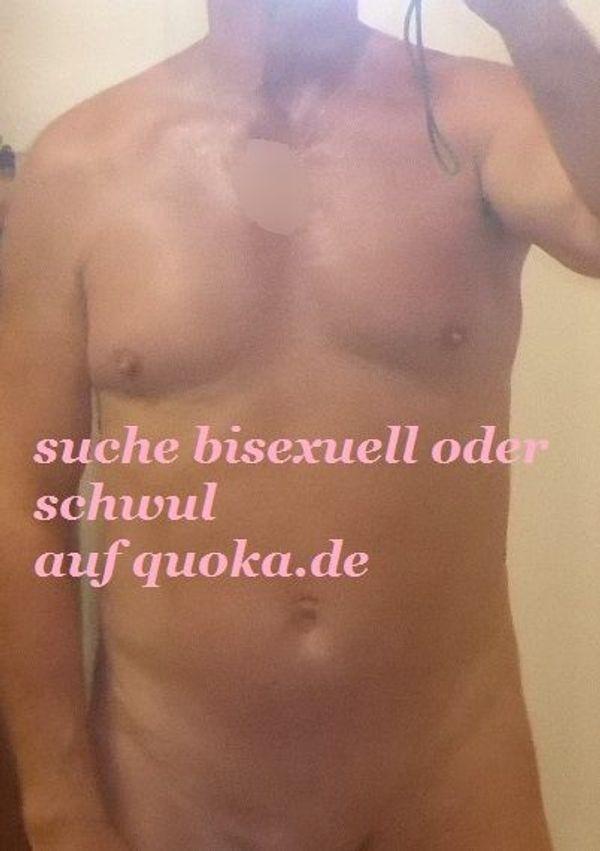 suche bisexuellen oder schwulen Mann