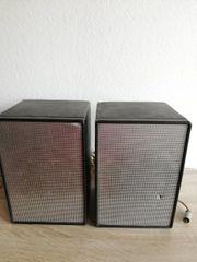 Vintage Schneider Lautsprecher Boxen