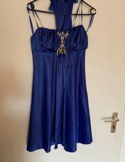 Saphire blaues Abendkleid Ballkleid Abiye
