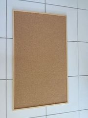 Pinnwand aus Kork 100 cm