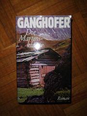 Buch Roman Ganghofer Die Martinsklause