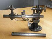 Vier Uhrmacher Drehmaschinen