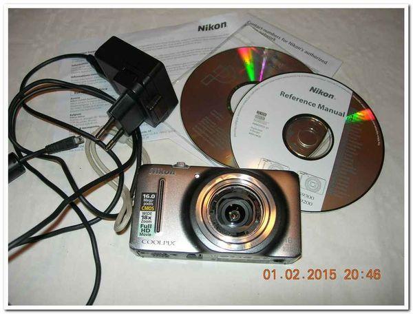 Nikon S9200 16MP CMOS Wide