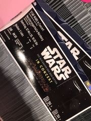 2 Karten Star Wars in