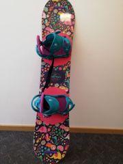 Burton Snowboard inkl Bindung - Girls