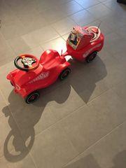 Bobby Car mit Anhänger Flüsterrädern