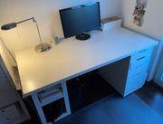 Verkaufe Ikea Schreibtisch Alex Linnmon