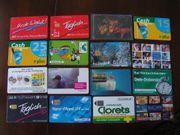 Tolles Konvolut 6 Sammler Telefonkarten