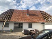 Dachziegel in gutem Zustand auf