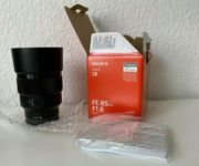 FE Sony SEL 85mm 1