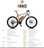 KTM e-race Elektrofahrrad
