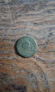 Münze Theodosius I Victoria 383 -