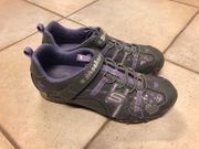 Skechers Sneaker lila silber Größe