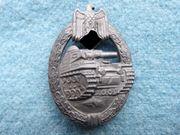 Orden Panzerkampfabzeichen in Bronze