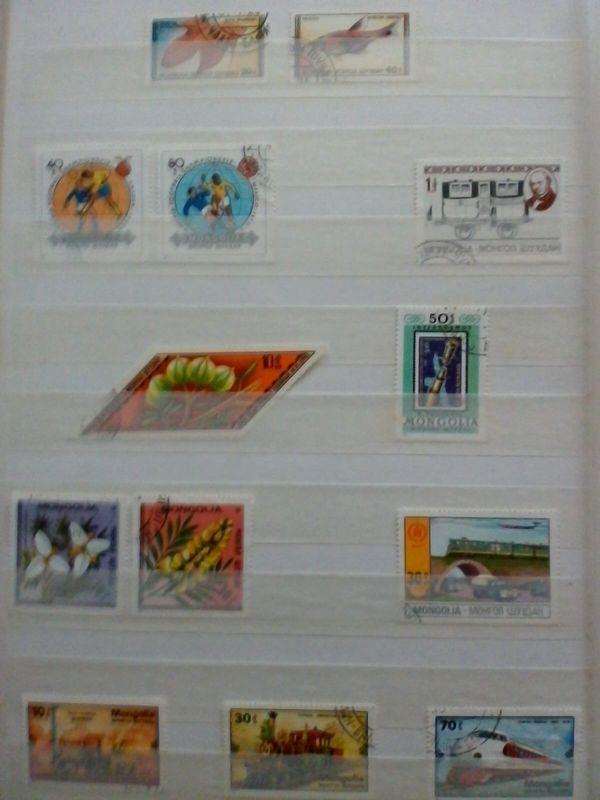 Briefmarken Mongolei