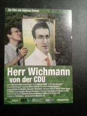 Flyer Herr Wichmann von der
