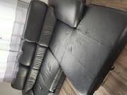 Couch Lederoptik