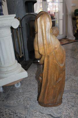Kunst, Gemälde, Plastik - Madonna Holzfigur Heiligenfigur Marienfigur Mutter