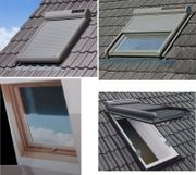 Dachfensterrollladen Aluminium-Rollladen mit Solar- Funkantrieb