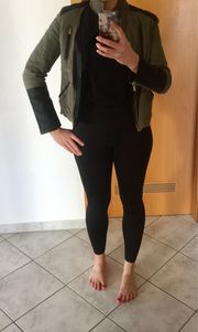 Zara Lederjacke Damen