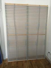 Matratze und Lattenrost 140x200 zu