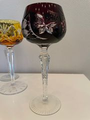 Weingläser Kristallglas 10Stück