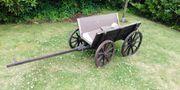 Alter Bollerwagen Holz ca 100