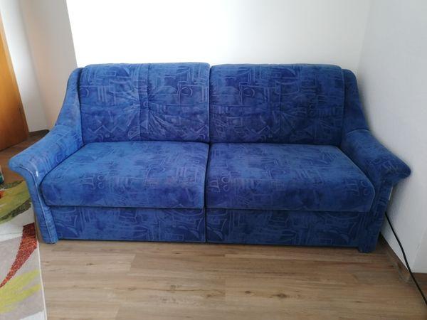 Zweisitzer Blau