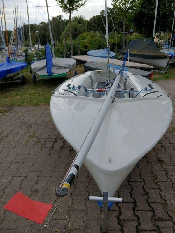 Regattafertiger gebrauchter Baranowksi 420er Segelboot
