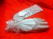 Festliche Kleidung Hochzeit neue Brauthandschuhe