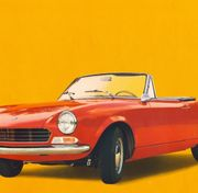 Fiat Spider AS 1 Motorhaube