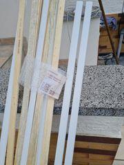Vorsetz - Holzsockelleisten 6x22mm