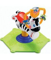 Fisher-Price Hipp Hopp Zebra Schaukel-Spielzeug