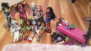 Monster High Puppen Sammlung Original