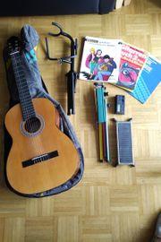 Gitarren Einsteiger Set - Konzertgitarre Pro-Arte
