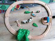 Holzbahn Zug