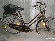 altes gebrauchtes AMSTERDAM 28er Hollandrad