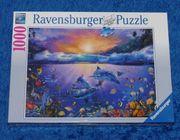 3 x 1000er Puzzle original