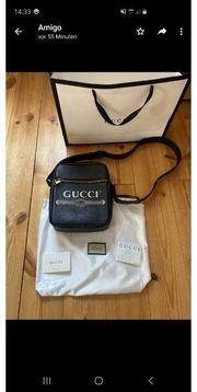 Gucci Tasche aus Leder mit