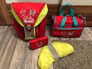 Scout Set Schulranzen Mäppchen Sporttasche