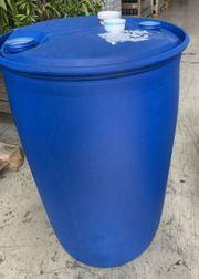 220 Liter Regenfass - Kunststoff - sauber