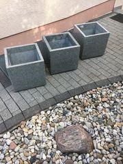 Neue Granit - Naturstein Pflanzgefässe