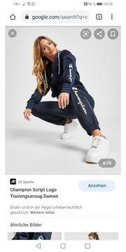 Trainingsanzug damen Champion jogginghose pullover