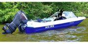 Verkaufe Motorboot mit Trailer