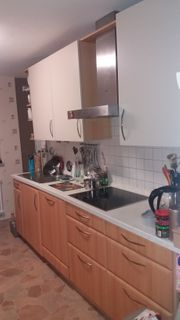 2 zeilige Einbauküche inkl E-Geräte