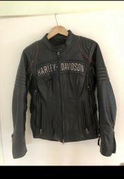 Harley Davidson Damen Kinder Lederjacke