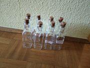8 Flaschen für Likör
