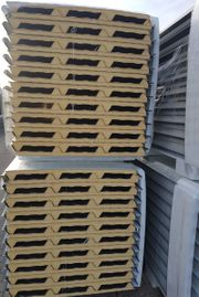 Sandwichpaneele ISO Paneele Dach Anthrazit