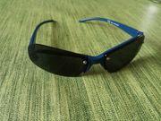 Kinder Sonnenbrille Brille schwarz blau