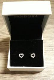Ohrringe Ohrstecker Herzen von Pandora